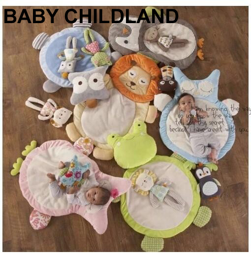 26fb5d1c7d Cute cartoon baby cushion soft mattress pad crawling baby muslin swaddle  newborn photography props bedding baby blanket game mat-in Blanket    Swaddling from ...