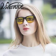 Conduccion polarizadas Viewnice gafas de Sol mujer gafas de sol de Pesca gafas de Sol de Moda UV400 Disenador de Plata de Las Mujeres