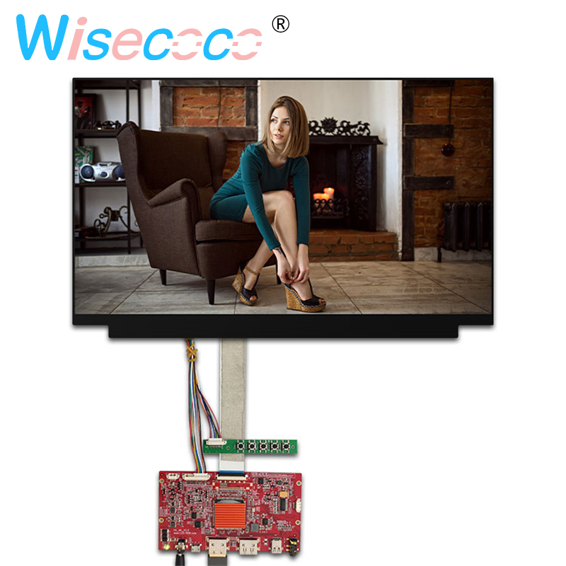 15.6 inch 4K IPS LCD Screen display panel 3840*2160 NV156QUM-N32 with HDMI DP Contoller Driver board Monitor Laptop PC DIY