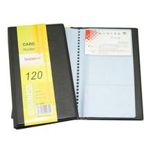 PU Leather 120 karty ID posiadacz karty kredytowej książka Case Keeper Organizer paszport karty kredytowej Case biznes mężczyźni kobiety Vintage Bag tanie tanio Posiadacze kart IDENTYFIKATOROWYCH Stałe Casual Skóra PU 20cm Pole Hasp Karta kredytowa 13 5 cala 0 03 kg masy Masz
