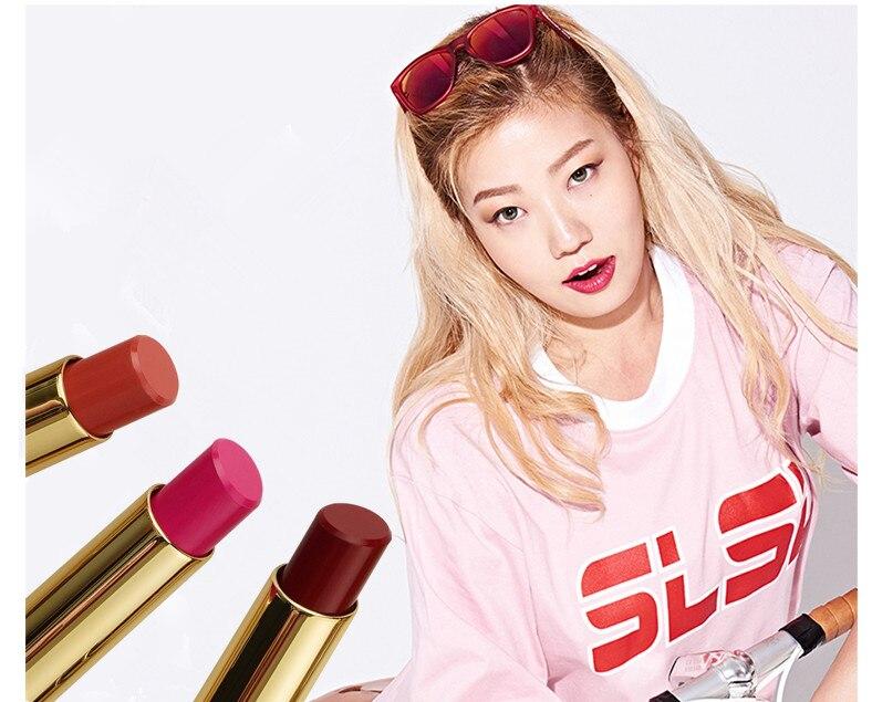 Beauty Matte Lipstick Long Lasting Cosmetics Maquiagem Women Makeup Red Batom Pigments Waterproof Lip Stick Pintalabios Mate 13