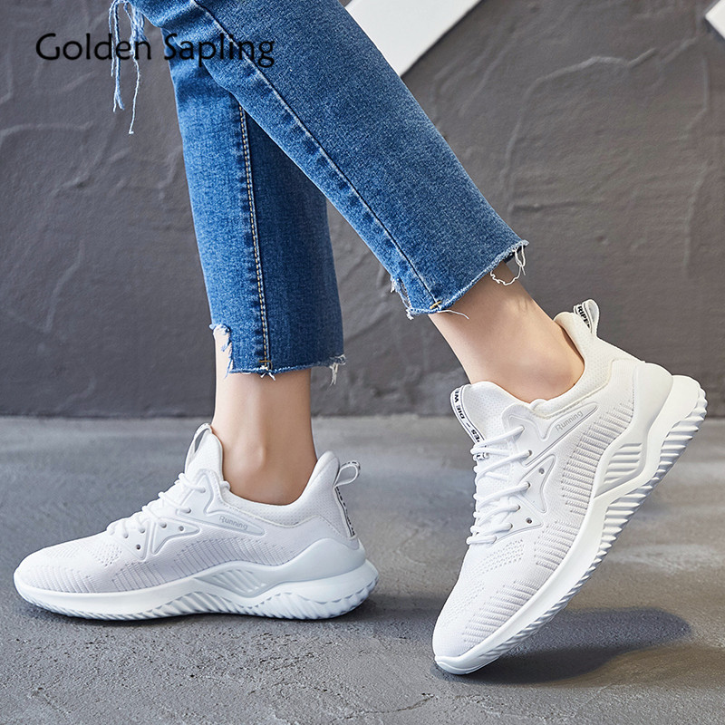 Golden Sapling 2019 New Summer Sneakers For Women Lightweight Running Shoes Breathable Air Mesh Runner Trainer Sport Shoes Woman