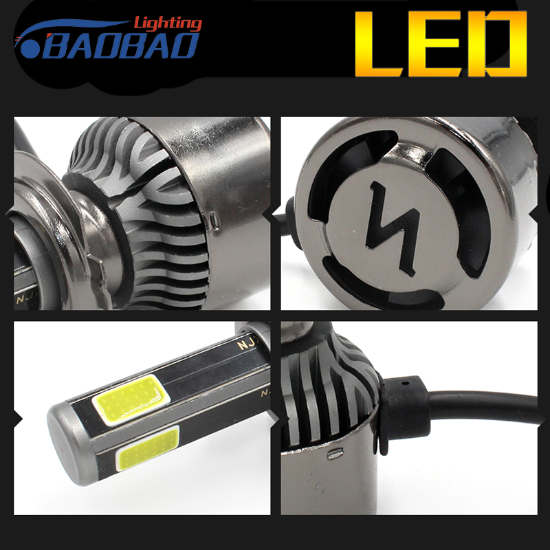 BAOBAO Car LED Headlight Bulb G8 Hi Lo Beam 36W COB Led Headlights 4200LM 6000K Auto Led 12v Spotlight Automative Lighting Lamp in Car Headlight Bulbs LED from Automobiles Motorcycles