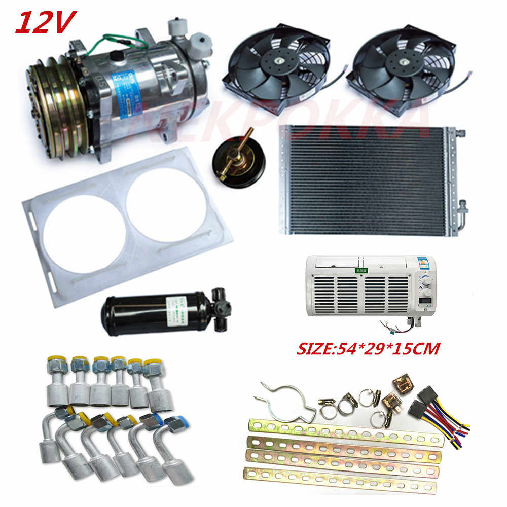 Automotive electric air conditioning, no consumption of