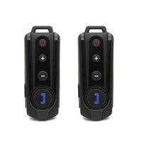 2X Helm Headset BT-S1 BT Intercom 1000 m waterdicht Interphone Bluetooth Motorhelm Intercom FM Radio walkie talkie