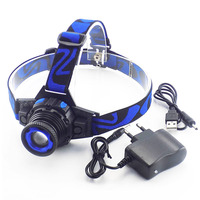 Rechargeable Head Light Build In Battery Headlight Frontal Linternas Led Lampe Cree Q5 Torch Headlamp Car