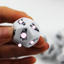 Humour Gambling Sex Toy for Couple Adult Game,sex Products Sexy Romance Erotic Craps Dice Pipe Flirting Toys 2.5cm