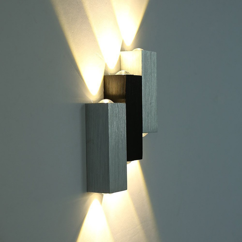 TAMPROAD Modern 6W LED Square Wall Lamp Hall Porch Walkway Living Room Light Bedroom Light Fixture Luminaria Externa Para Parede