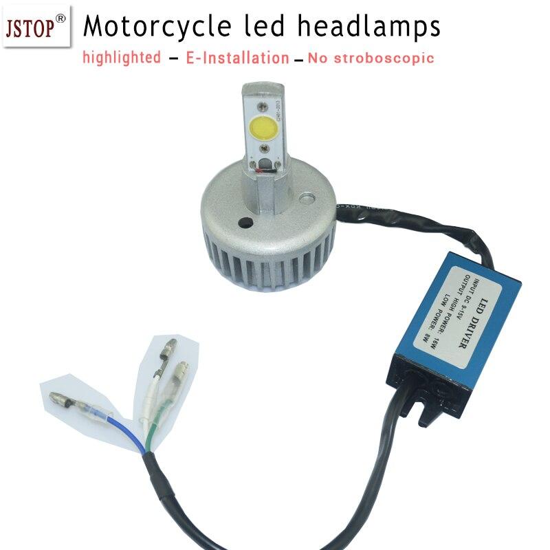 led 16W Motorcycle light Motorbike led Headlight bulbs 850LM LED Driving Fog Spot Upper Low Beam