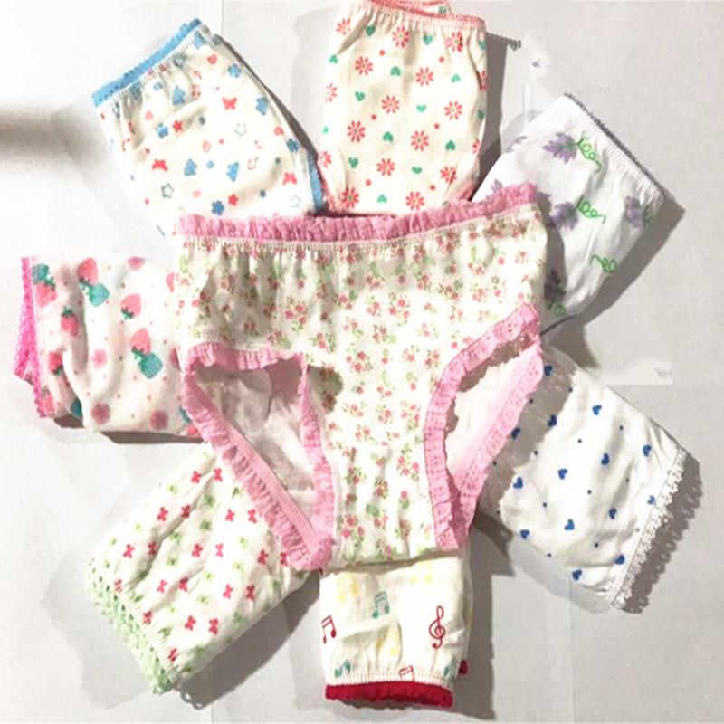 73d967cab6d 10pcs/lot 100%cotton girls underwear kids baby panties children's lace  underpants PT 2WEW-in Panties from Mother & Kids on Aliexpress.com |  Alibaba Group