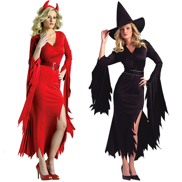 Cute Unicorn Black Witch Red Devil Cosplay Costume party dresses Carnival Halloween Costumes Ladies Role Play  sc 1 st  AliExpress.com & Cute Unicorn Black Witch Red Devil Cosplay Costume party dresses ...
