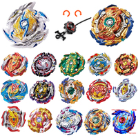 100Pcs New Toupie Beyblade B144 B145 B139 B127 B128 B131 B122 B97 Metal Fusion Top Burst 4D Master With Launcher Beyblade Toys