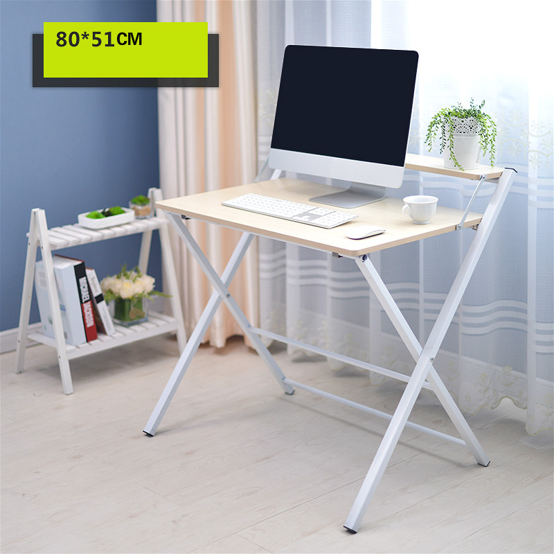 Smart Simple Folding Desk Laptop Desk Modern Sidebed Table Furniture Office Furniture