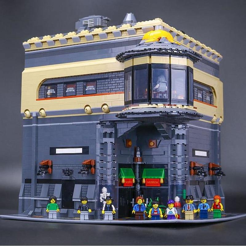 EN STOCK LEPIN 15015 5003 pcs Ville Série Le musée des dinosaures Modèle Kits de Construction Briques Blocs Cadeau De Noël Jouet legoUBE