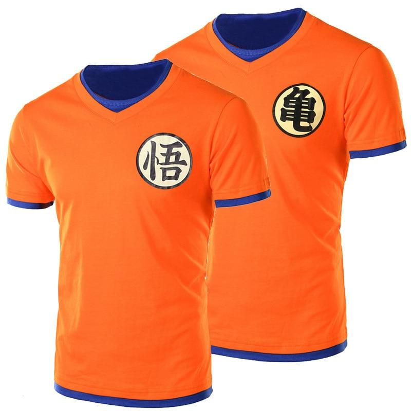 New Arrival Japanese Anime Dragon Ball Z   T     Shirt   Son Goku   T  -  shirt   Short Sleeve O-Neck Tshirt Super Saiyan   T     Shirt   For Men/women