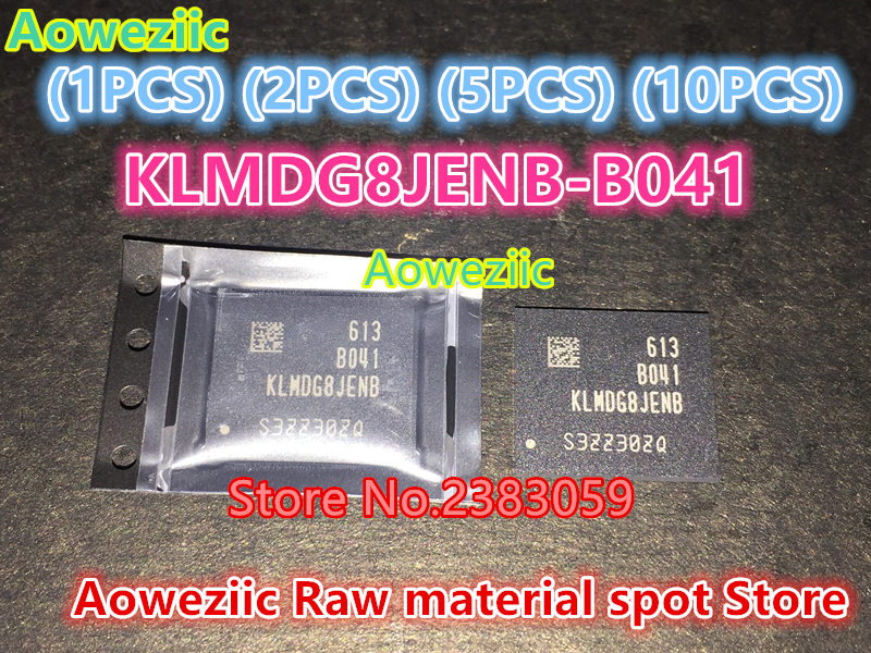 Aoweziic (1PCS) (2PCS) (5PCS) (10PCS) 100% new original KLMDG8JENB-B041 BGA KLMDG8JENB B041 128GB memory chip 1pcs 2pcs 5pcs 10pcs 100% new original klmbg4webc b031 bga emmc 32gb memory chip klmbg4webc b031