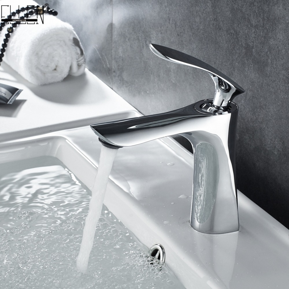Bathroom Sink Faucet Hot and Cold Water Mixer Crane Chrome Black Finished Tap Toilet Basin White Gold Black Sink Faucets ELF1105 anon маска сноубордическая anon somerset pellow gold chrome