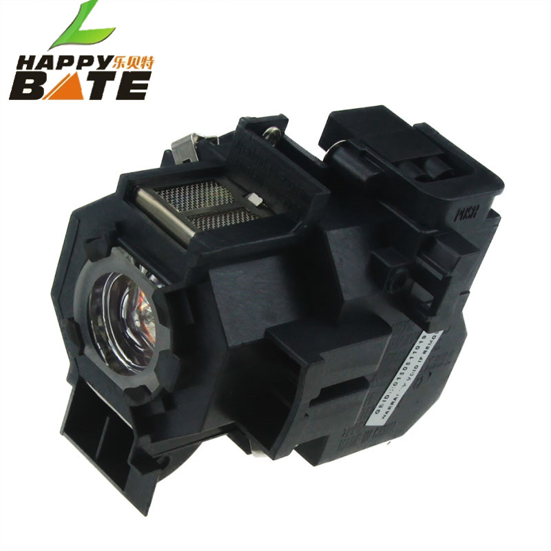HAPPYBATE ELPLP42 Projector Lamp With Housing for EMP-83H EMP-410WE EMP-280 EMP-270 EMP-822H EMP-400WE H281A V13H010L42 100% original new pkp k170a projector ballast board for emp 270 emp 280 projetors