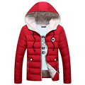 New Design Coat With Earphone Hot Selling Men Winter Hooded Coat Down Jackets for men Thick Warm Parkas Plus Size QH9367