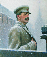 ARTIST ART Joseph Stalin after Aleksandr Ivanovich Laktionov portrait oil painting # 100% handpainted painting