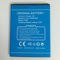 New 100 IST Original Mobile Phone Battery For Doogee Y100 Y100 PRO Valencia2 High Quality Replacement