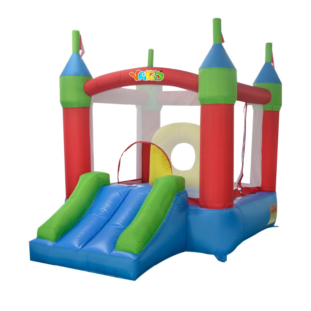 Yard Free shipping Surprise gift bounce house inflatable bouncer inflatable jumping jumper bouncy castle trampolin yard free shipping inflatable bouncer dual slide bouncy jumper giant jumping house obstacle combo for home use
