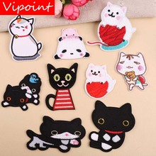 VIPOINT embroidery cats dogs patches animal badges applique for clothing YX-74