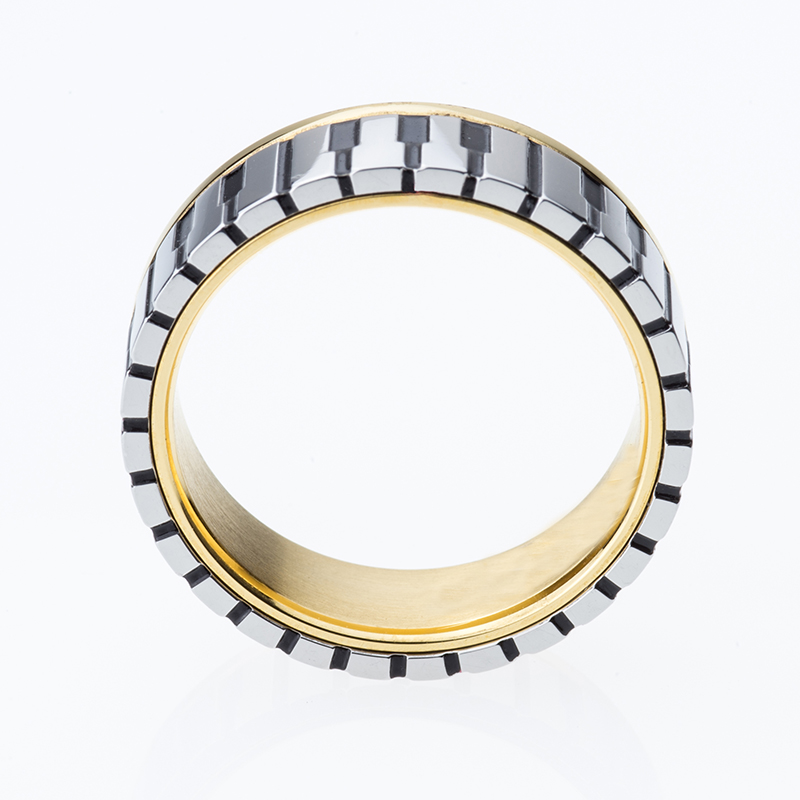 7mm Wide Men Women S Gold Color Music Piano Keyboard Wedding Band Ring For Pianist Available Sizes 5 10 In Bands From Jewelry
