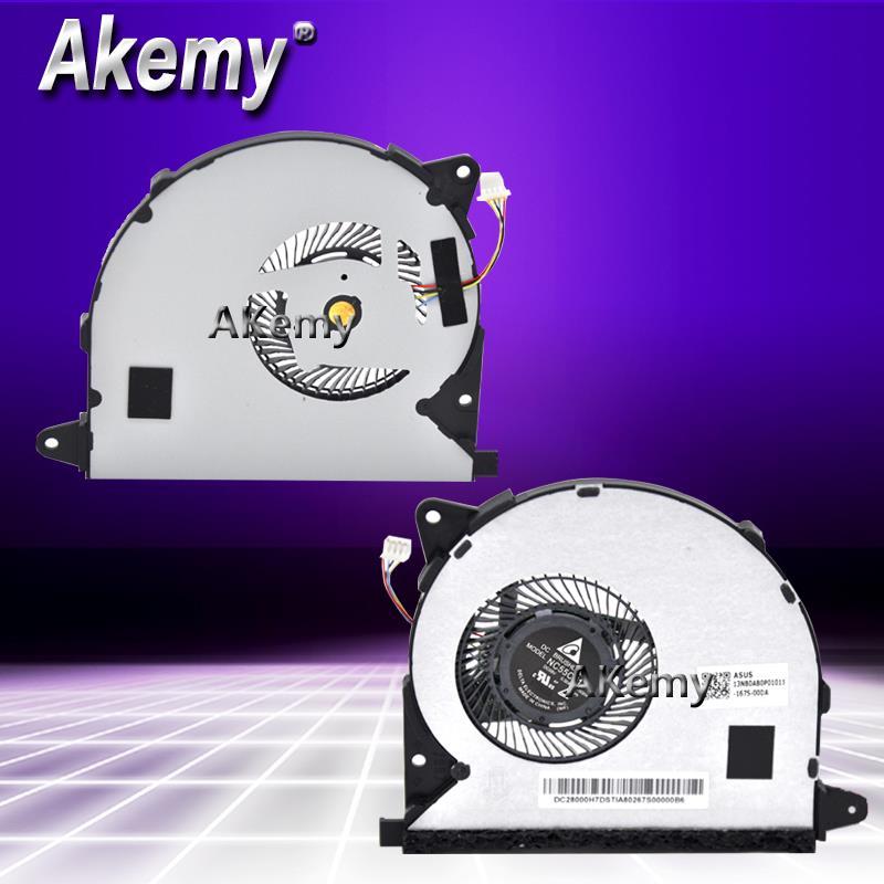 Akemy FOR ASUS UX305 UX305U UX305UA U305UA U305U  laptop fan CPU cooler FAN NC55C01 15G04 13NB0AB0P01011|Fans & Cooling| |  - title=