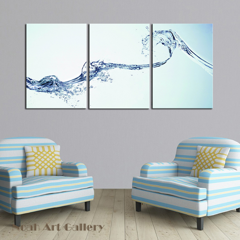 Realistic Water Spray Art Modern Canvas Prints Artwork Pictures Photo  Printings For Home Dining Room Wall