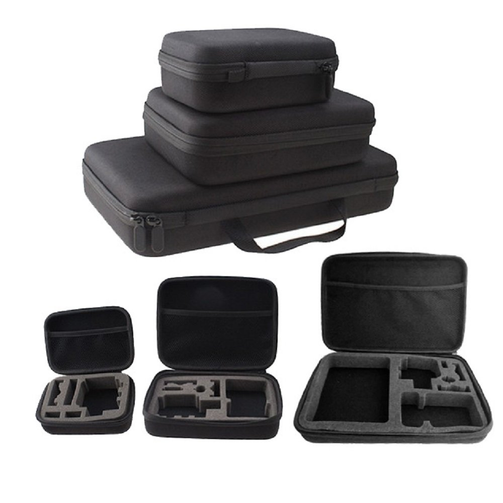 2.5 3.5 inch Shockproof Waterproof Portable Storage Carry power bank Case hard drive Bag for GoPro HD Hero 3+ 2 4 1