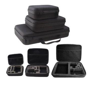 2.5 3.5 pouces antichoc étanche Portable stockage transporter housse de batterie portative sac de disque dur pour GoPro HD Hero 3 + 2 4 1