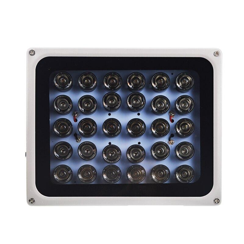 AC 220V CCTV LEDS 30 pièces IR infrarouge illuminateur vision nocturne 850nm IP65 étanche CCTV lumière de remplissage pour caméra de Surveillance CCTV