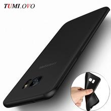 Fashion Black Scrub Soft Silicone TPU Case for Samsung Galaxy A3 A5 A7 J1 J3 J5 J7 2016 2017 S5 S6 S7 Edge S8 Plus Cases Shell