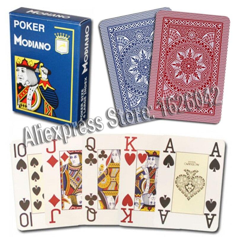 Carte Italie Jeux.17 22 Xf Modiano Jeu De Poker Italien Cartes A Jouer Rouge Poker Jumbo Index Pont De Carte Unique 100 Plastique Fabrique En Italie Dans Cartes A