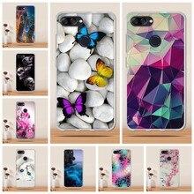 Cover For Asus Zenfone Max Plus M1 Case Cover Silicone 3D TPU Funda Phone  Case For Asus Zenfone Max Plus M1 ZB570TL X018DC Coque 63d4a9a87210