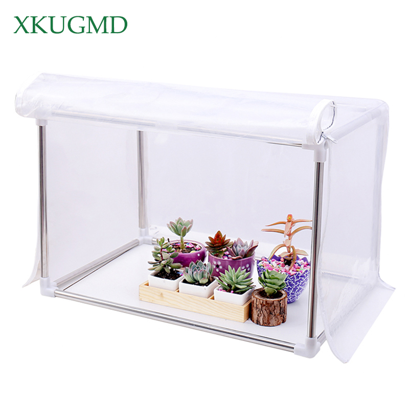 Bonsai Flower Succulent Plants Keep Warm Grow Tent Winter Winterized Tents Anti Freezing Rainshed Wind Proof Garden Greenhouse in Growing Tents from Home Garden