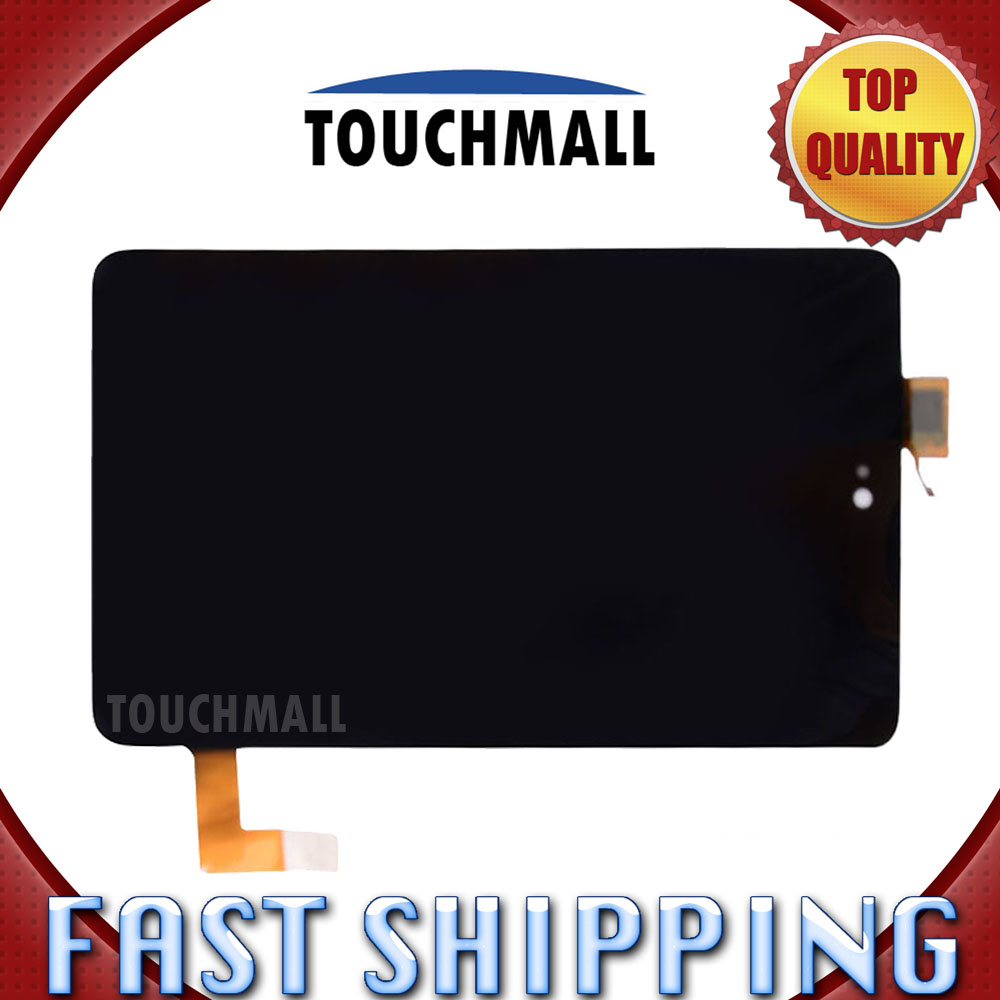 For Dell Venue 7 T01C 3740 Replacement LCD Display Touch Screen Digitizer Glass Assembly 7-inch Black For Tablet Free Shipping grade a replacement lcd glass screen ecran touch display digitizer assembly for oppo r9 plus 6 0 inch white with free tool kit