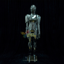 Blade Robot Costume Dragon Lens LED Clothing Light Clothes Dance Alien Suit Women Halloween Science Fiction Movie Robot Costumes