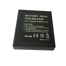 DS8330 lithium batteries pack 8330 For Photographed PENTAX A350 SL83 E1000 W800 83S Pentax Z5Digital Camera Battery
