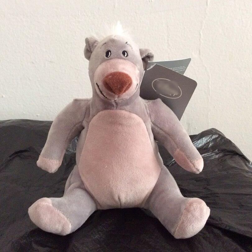 18cm The Jungle Book Baloo bear Plush Toys soft Boy Doll For kids Gifts&birthday