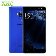 BLUBOO D1 16 GB mobile téléphone 8.0MP Double Caméras Arrière 5.0 pouce Android 7.0 MTK6580A Quad Core 2600 mAh Smartphone d'empreintes digitales ID