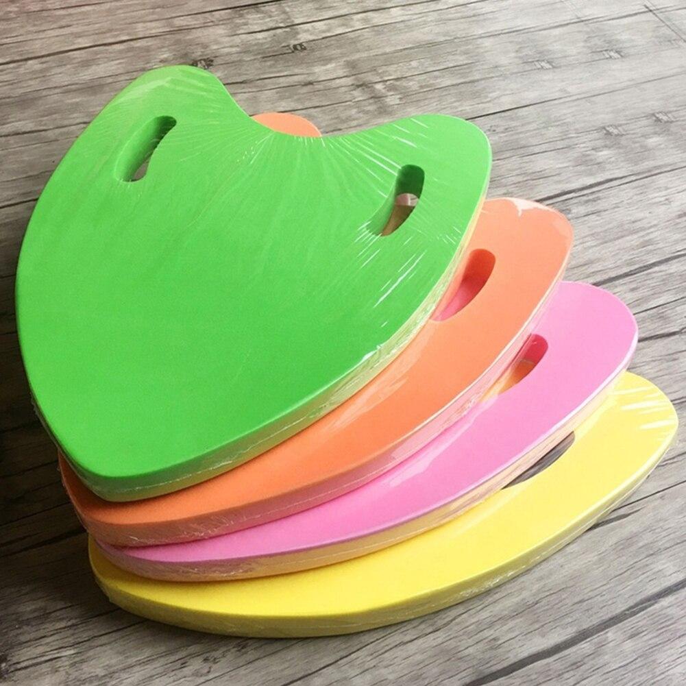 Легкая форма доска для плавания из ЭВА плавающая пластина задняя поплавок Kickboard бассейн тренировочный инструмент для взрослых и детей