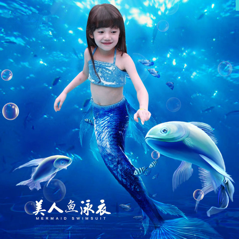 new ariel mermaid tail princess dress cosplay halloween costume for kids mermaid tails for girl fancy - Mermaid Halloween Costume For Kids