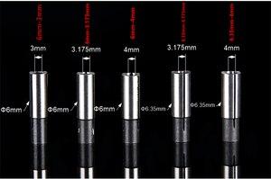 Image 3 - 12.7mm 3.175 4 6 6.35 8 10 millimetri 1 PCS, messaggio gratuito CNC Collet adattatore del manicotto di Alta precisione di conversione, accessori per macchine incisione