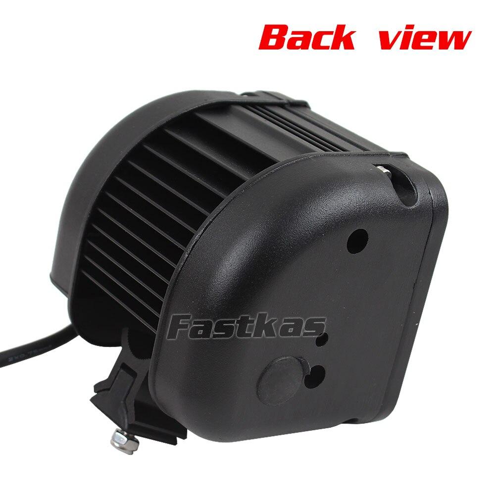 FASTKAS 2X40 W LED Barra de luz de trabajo para camiones de ATV de la motocicleta CREE Chip LED Offroad barra de luz 4 luz LED de luz antiniebla X 4 - 5