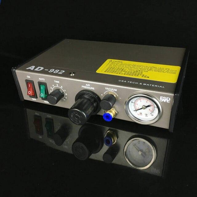 Automated Glue Dispenser Solder Paste Liquid Semi Automatic Dispensing Machine Controller Dropper AD-982