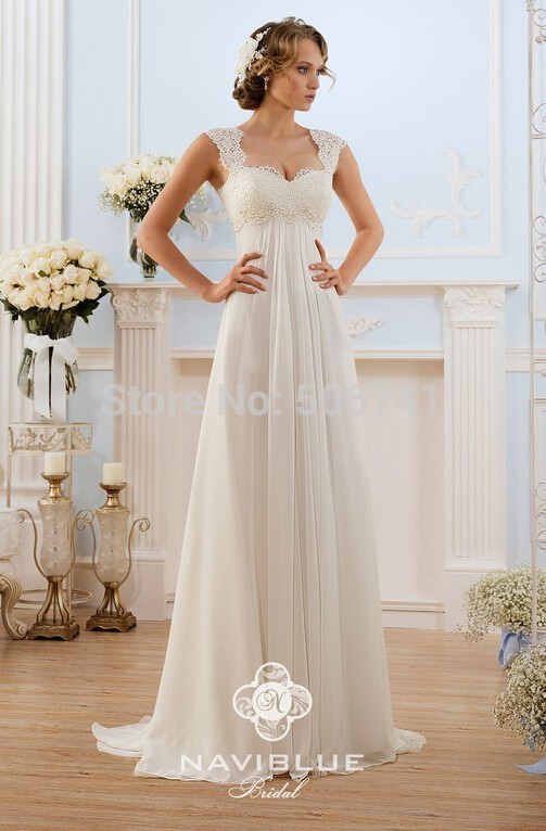 Wedding Dresses  Made In : Cheap wedding dress made in china lace chiffon beach