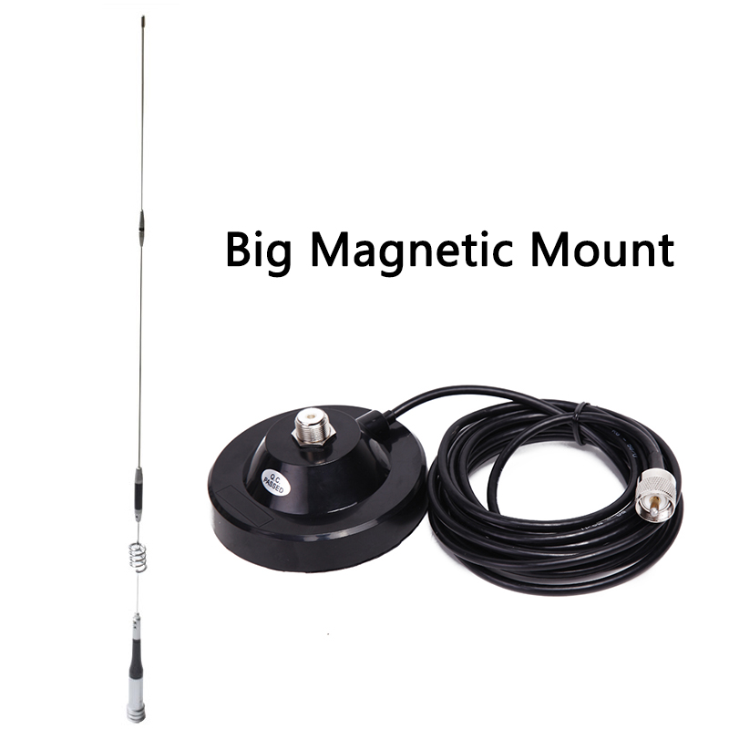 US $37 7 |Antenna Package: Mobile Antenna SG7200 UHF/VHF Dual Band Diamond  SG 7200+Big Magnetic Mount+5M Cable For Mobile Car Radio-in Walkie Talkie