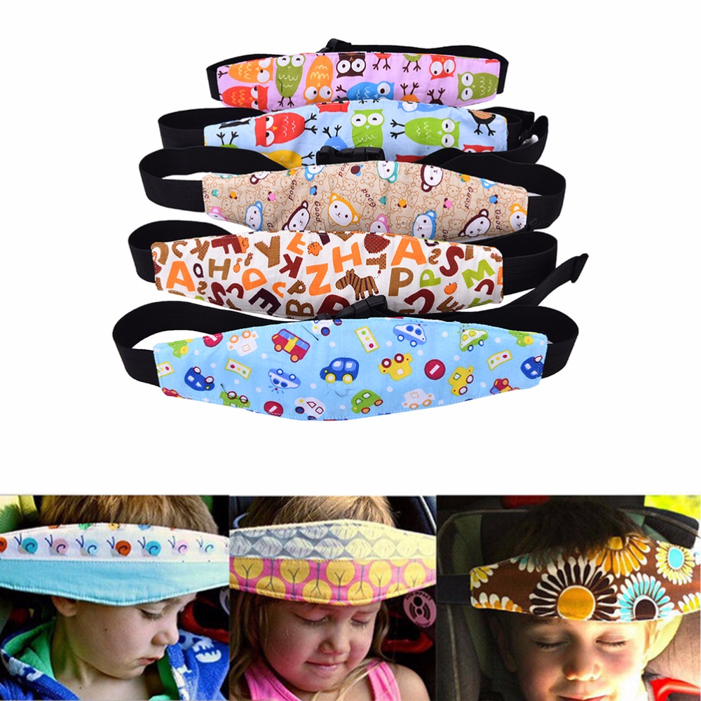 Baby Pillows Safety Belt Seat Supplies Child Pillow Adjustable Infants Sleep Stroller Positioner Fastening For Kids Sest In Car